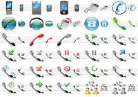 Phone Toolbar Icons