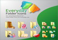 Everyday Folder Icons for Vista