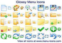 Glossy Menu Icons