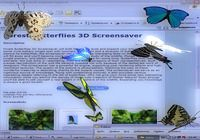 Desktop Butterflies 3D Screensaver
