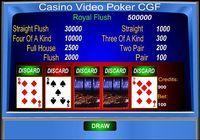 Casino Video Poker CGF