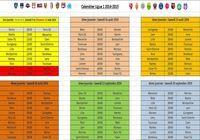 Calendrier Ligue 1 2014-2015