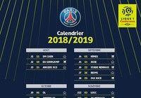 Calendrier PSG Ligue 1 2018-2019
