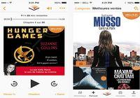 Audible livres audio iOS