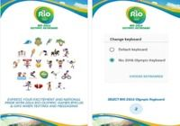 Rio 2016 Keyboard ios