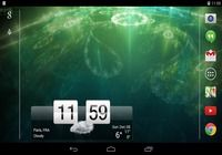 Sense Flip Clock & Weather Android