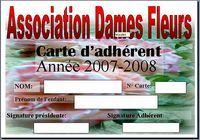 Carte d'adhérant Microsoft publisher 2007