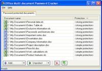 Office Multi-document Password Cracker
