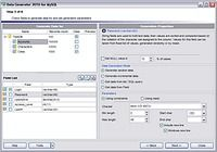 EMS Data Generator for MySQL