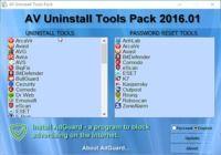 AV uninstall Tools