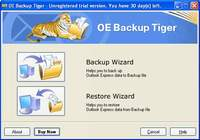 Outlook Express Backup Tiger