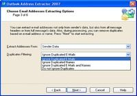 Outlook Address Extractor 2007