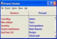 Personal Timeclock
