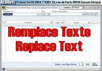 Remplace Texte