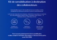 Kit de sensibilisation à destination des collaborateurs