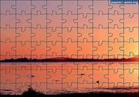 Puzzle Coucher de Soleil Palavas