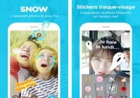 Snow - Selfie, Sticker animé iOS
