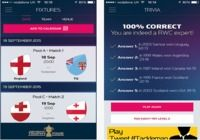 Official Rugby World Cup 2015 IOS