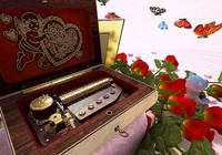 Valentine Musicbox 3D Screensaver