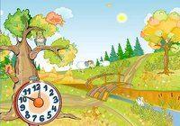 Autumn Clock Screensaver