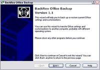 BackRex Office Backup