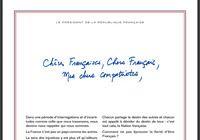 Lettre de Macron PDF