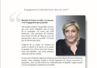 Programme Marine Le Pen - Présidentielle 2017
