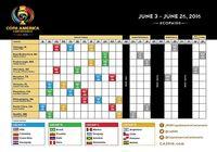 Calendrier de la Copa America 2016