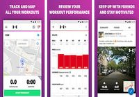 Marche avec MapMyWalk Android