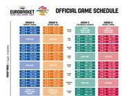 Calendrier Officiel de l'EuroBasket 2015