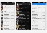 Sliding SMS Android