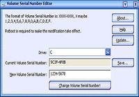 Drive Volume Serial Number Editor