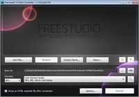 Free Audio to Flash Converter