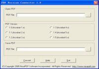 PDF Version Converter