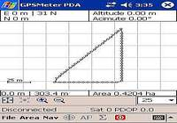 GPSMeter PDA