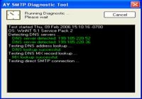 SMTP Diagnostic Tool