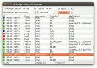 Logiciel gratuit Angry IP Scanner Linux