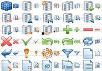 Database Toolbar Icons