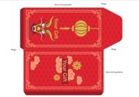 Pochette carte cadeau Dragon