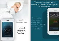 Réveil Météo Parlant Pro iOS