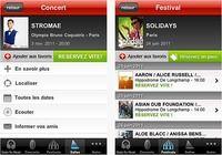 Infoconcert iOS