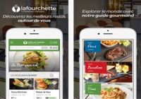 La Fourchette iOS