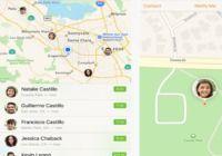 Localiser mes amis - iOS