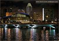 Fonds d'Ecran Singapour 1024