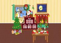 Kostenlose Software Christmas Countdown Screensaver