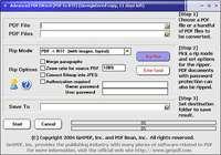 Advanced PDF2Word (PDF to RTF)