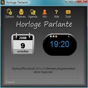 t l charger horloge parlante 3000 pour windows shareware. Black Bedroom Furniture Sets. Home Design Ideas