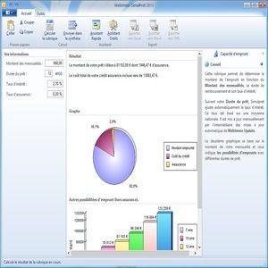 T l charger simulpret 2013 pour windows freeware - Tableau d emprunt excel ...