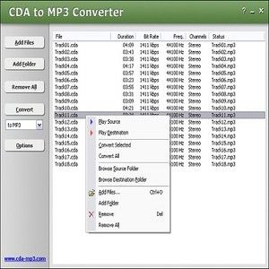 how to open .cda audio files