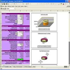 T l charger credicalc splashy excel pour windows freeware - Tableau d emprunt excel ...